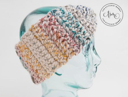 Rustic Chunky Headband - Free Crochet Pattern | www.thestitchinmommy.com