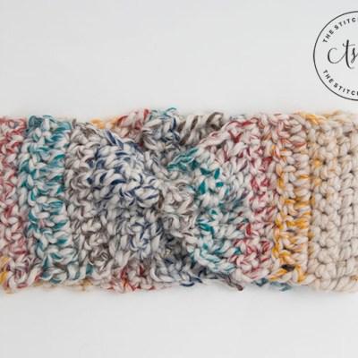 Rustic Chunky Headband – Free Crochet Pattern