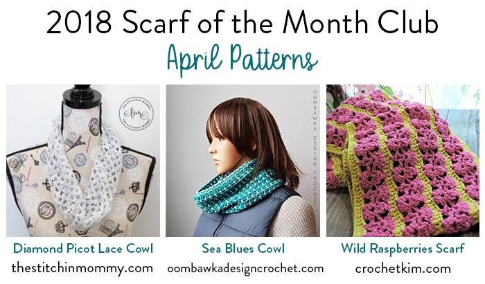 Diamond Picot Lace Cowl Free Crochet Pattern The Stitchin Mommy