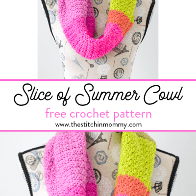 Slice of Summer Cowl – Free Crochet Pattern
