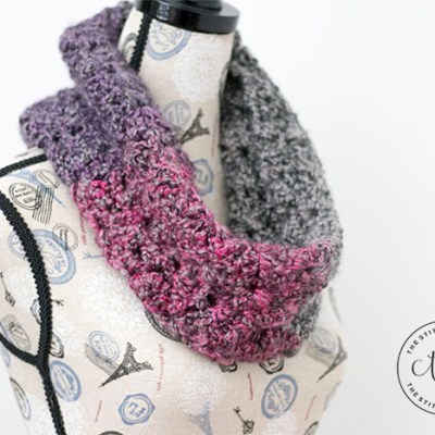 Sugar Plum Cowl – Free Crochet Pattern