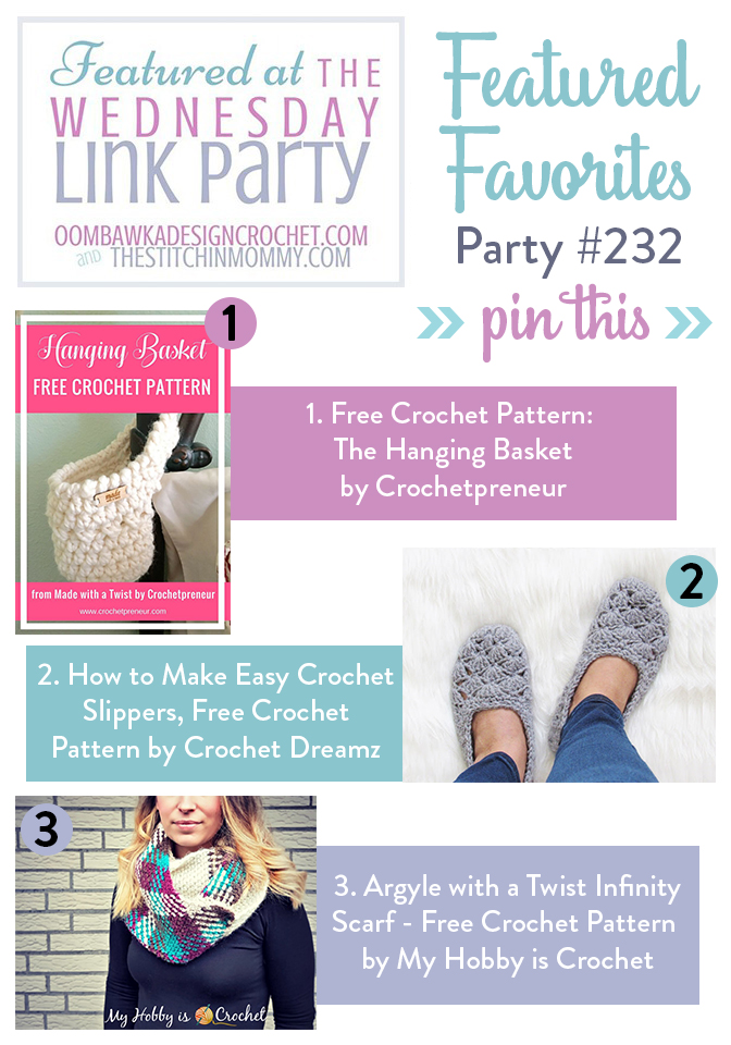 The Wednesday Link Party #232 Featured Favorites | www.thestitchinmommy.com