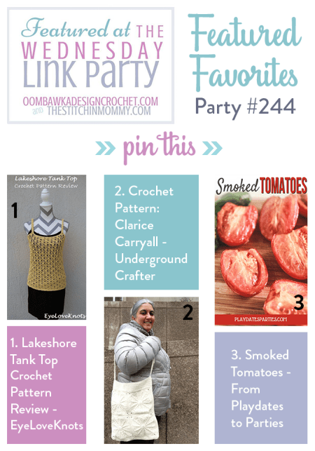 The Wednesday Link Party #244 Featured Favorites | www.thestitchinmommy.com