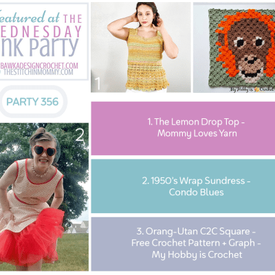 The Wednesday Link Party 356 featuring The Lemon Drop Top