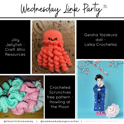 The Wednesday Link Party 396 featuring Jilly Jellyfish