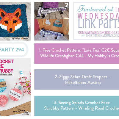 The Wednesday Link Party 294 featuring Lava Fox C2C Square