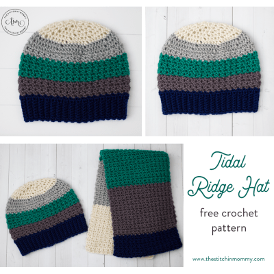 Tidal Ridge Hat – Free Crochet Pattern