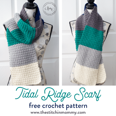Tidal Ridge Scarf – Free Crochet Pattern