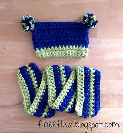 Tree-Frog-Hat-and-Scarf-Set