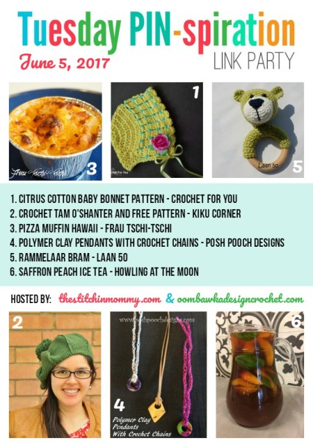 The NEW Tuesday PIN-spiration Link Party Week 40 (6/5/2017) - Rhondda and Amy's Favorite Projects | www.thestitchinmommy.com