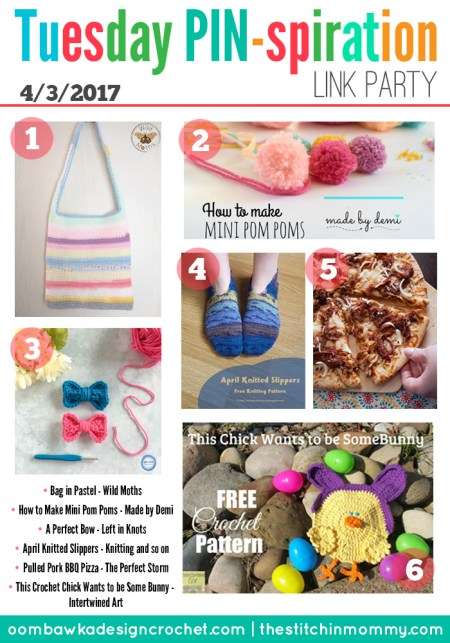 The NEW Tuesday PIN-spiration Link Party Week 31 (4/3/2017) - Rhondda and Amy's Favorite Projects | www.thestitchinmommy.com