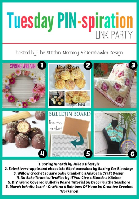 The NEW Tuesday PIN-spiration Link Party Week 2 - Rhondda and Amy's Favorite Projects | www.thestitchinmommy.com