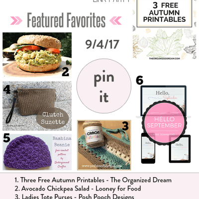 The New Tuesday PIN-spiration Link Party {53}