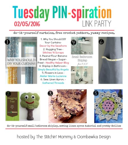 The NEW Tuesday PIN-spiration Link Party Week 3 - Rhondda and Amy's Favorite Projects | www.thestitchinmommy.com