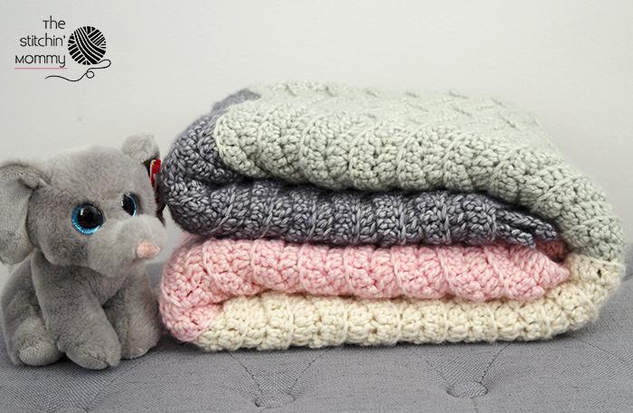 Amigurumi Vivi Free Patterns : Vivis color block ripple afghan free crochet pattern the