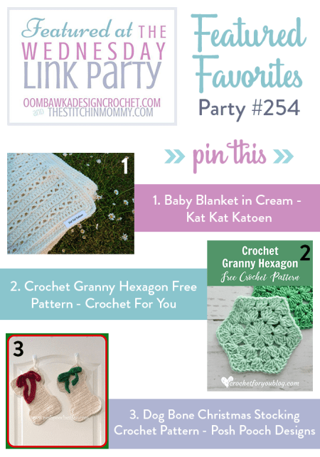 The Wednesday Link Party #254 Featured Favorites | www.thestitchinmommy.com