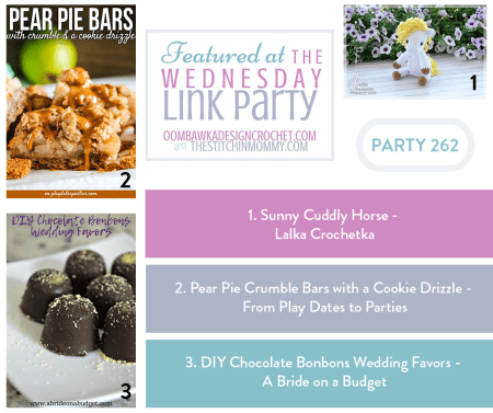 The Wednesday Link Party #262 Featured Favorites   www.thestitchinmommy.com