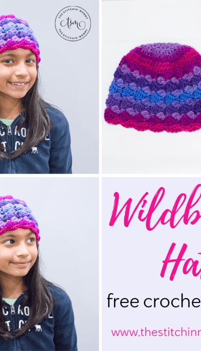 Wildberry Hat – Free Crochet Pattern