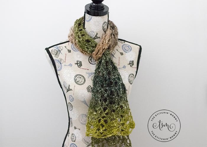 Woodland Lace Scarf | www.thestitchinmommy.com
