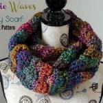 Mystic Waves Infinity Scarf – Free Crochet Pattern