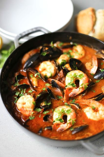 Wood Fired Seafood Stew The Stone Bake Oven Company