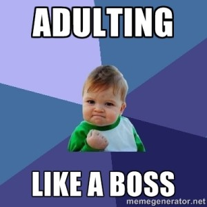 Image result for adulting 101