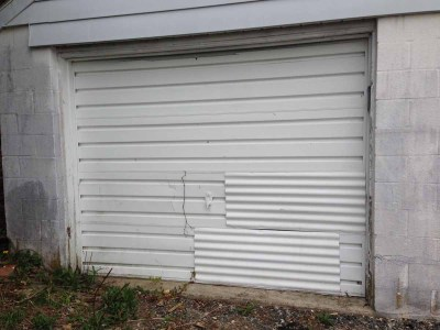 two fixes on garage door