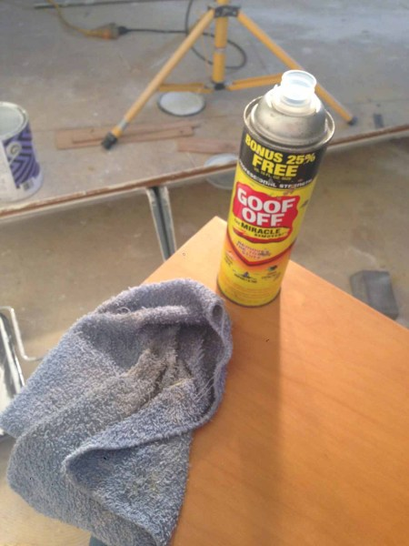 goof-off-to-remove-latex-paint for my apartment renovation