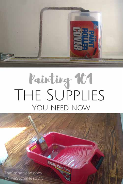 Painting 101: The Necessary Supplies