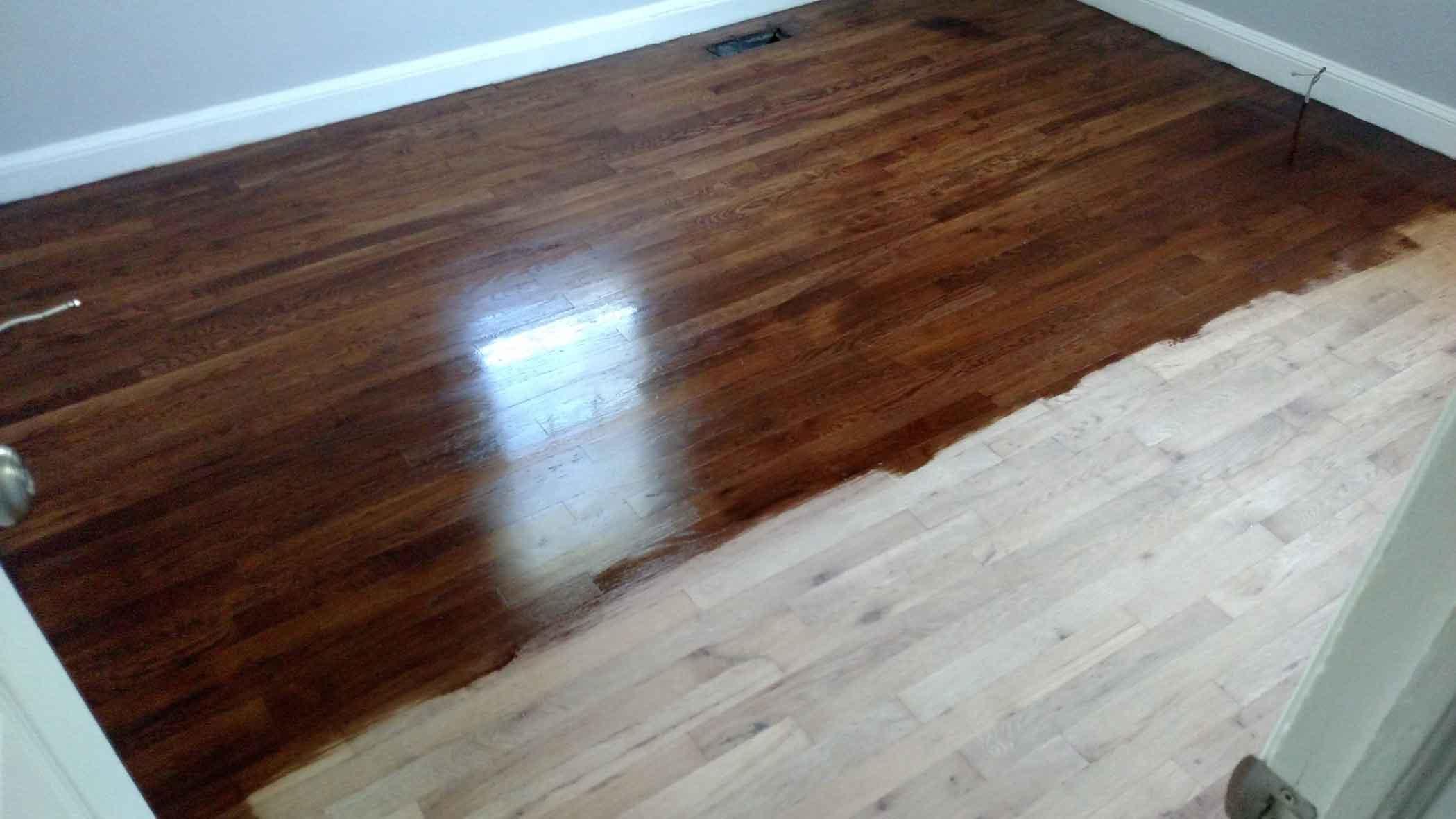 how to refinish hardwood floors the minwax stain