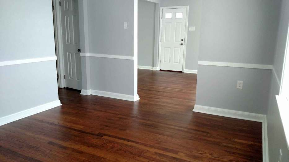 how to refinish hardwood floors the result