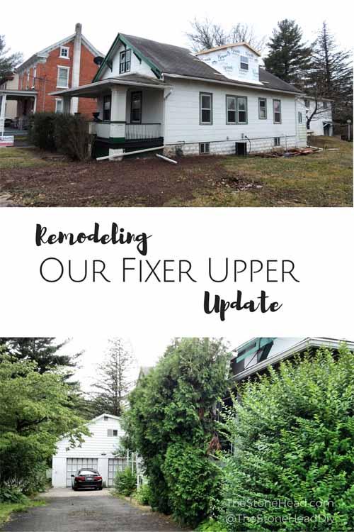 Fixer Upper Remodel Update
