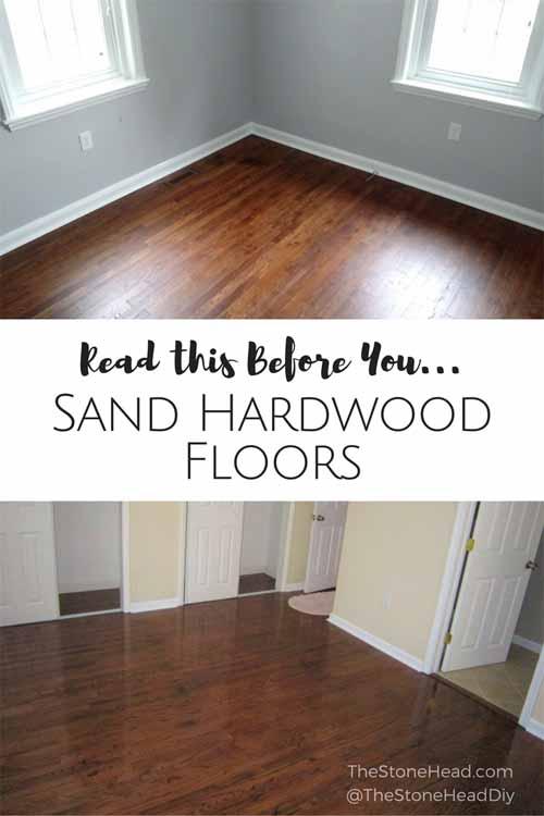 Sanding Hardwood Floors – The Fiasco