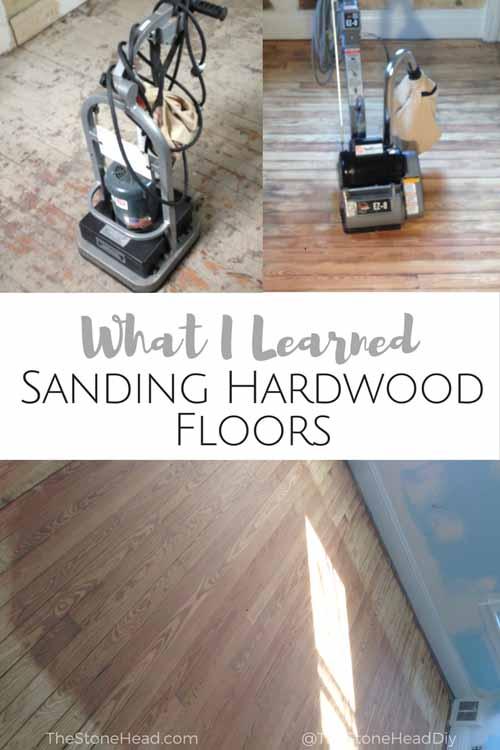 What I Learned Sanding Hardwoods