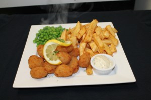 pub grub - scampi and chips