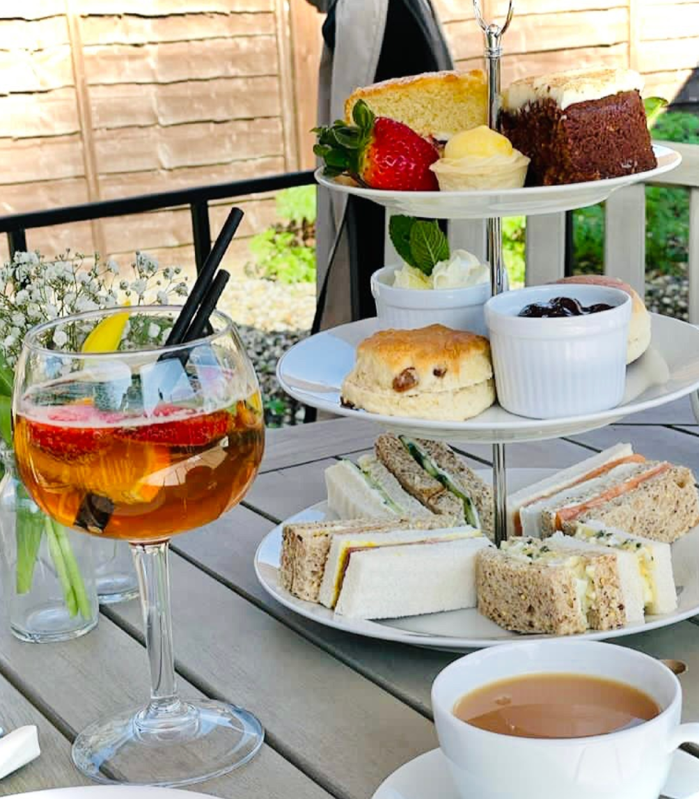 The Stone Horse afternoon tea