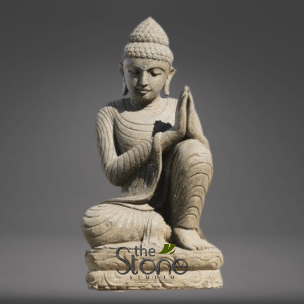 Buddha Statue in Sand Stone