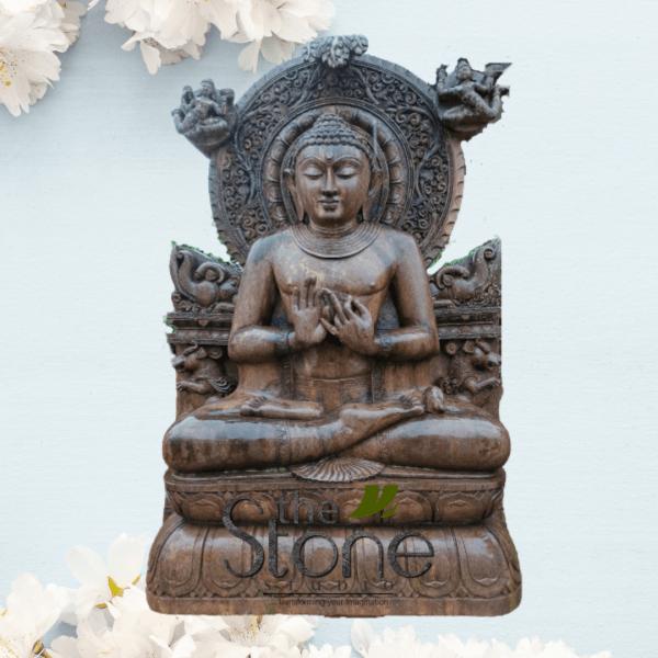 Buddha Statue in Dharmachakra Mudra