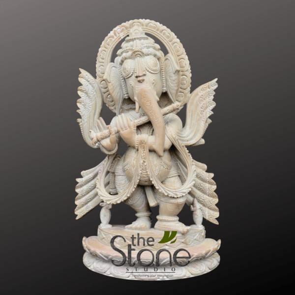 Ganesh Statue Standing with Flute