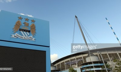 A general view of The City of Manchester stadium, Manchester City's football stadium on September 10, 2011. AFP PHOTO / ADRIAN DENNIS RESTRICTED TO EDITORIAL USE. No use with unauthorized audio, video, data, fixture lists, club/league logos or live services. Online in-match use limited to 45 images, no video emulation. No use in betting, games or single club/league/player publications. (Photo credit should read ADRIAN DENNIS/AFP/Getty Images)