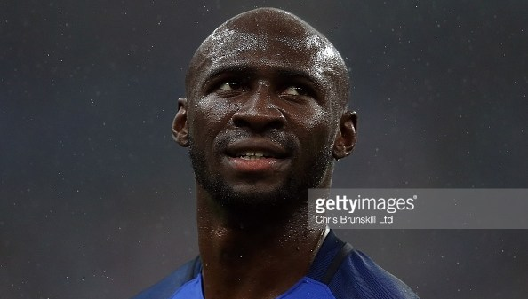 PARIS, FRANCE - JULY 03: Eliaquim Mangala of France looks on during the UEFA Euro 2016 Quarter Final match between France and Iceland at Stade de France on July 03, 2016 in Paris, France. (Photo by Chris Brunskill Ltd/Getty Images)
