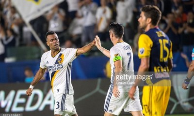 Ashley Cole Robbie Keane LA Galaxy