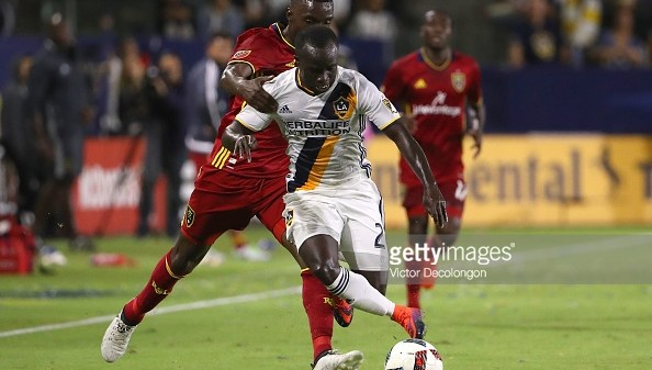 Emmanuel Boateng LA Galaxy Real Salt Lake