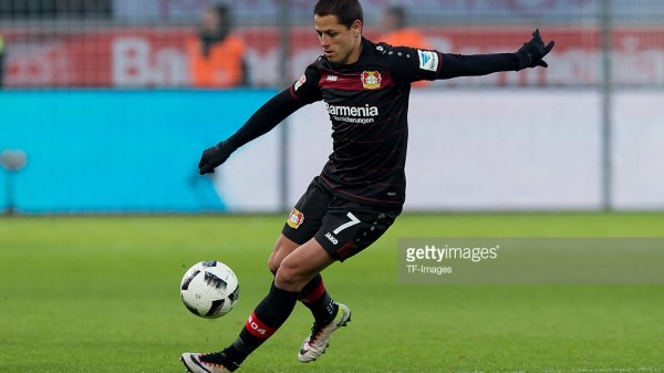 Chicharito Bayer Leverkusen Bundesliga