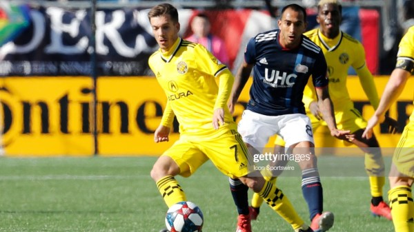 New England Revolution Columbus Crew