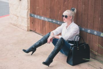Tori Johnson is the top San Antonio Fashion Blogger.