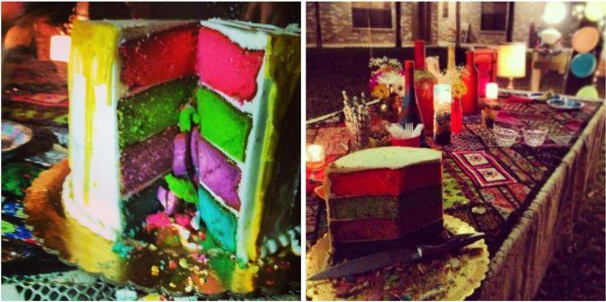 Rainbow Glitter Party