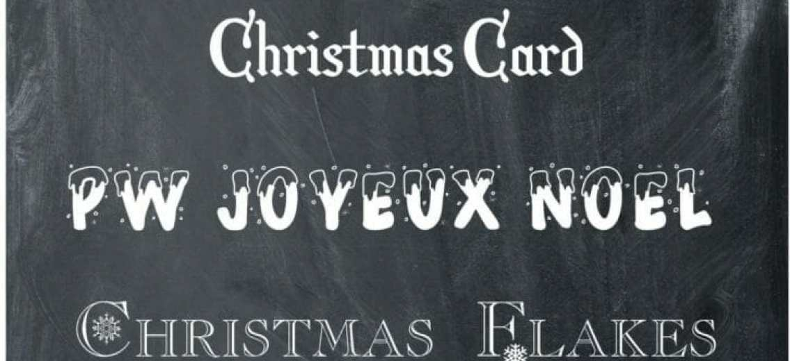 Free Christmas Fonts - the sTORIbook