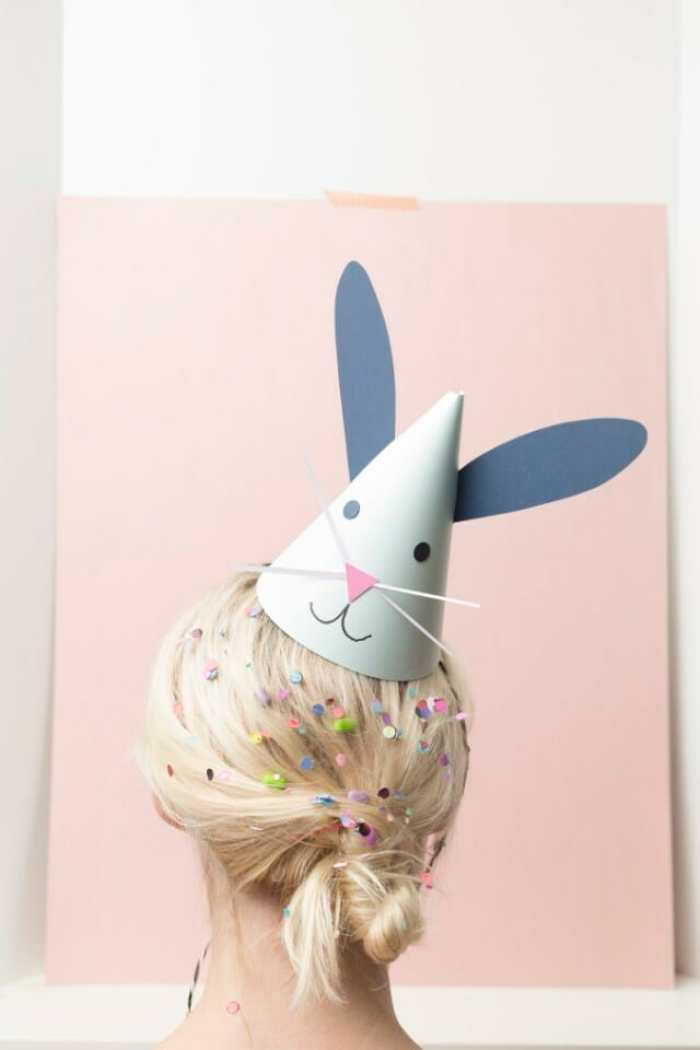 Cute DIY Easter Bunny Party Hats