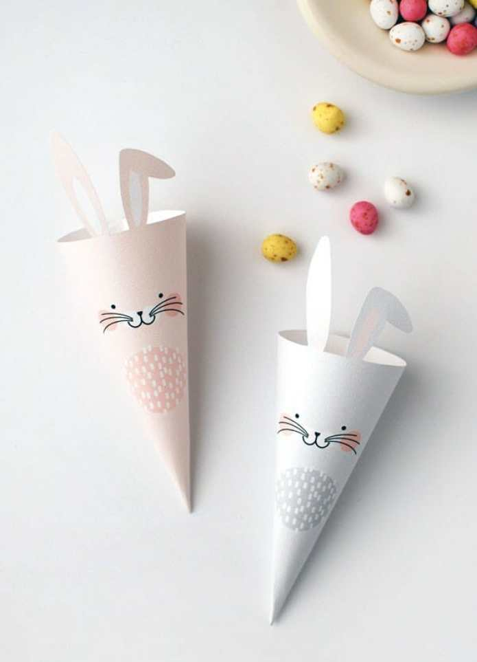 DIY Easter Treat Cones